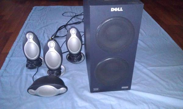 Dell multimedia computer speaker sys - $150 (Merced)