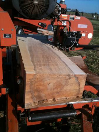 Woodmizer portable sawmill, we can mill your trees into quality lumber (209 area Merced to Stockton to Pinecrest)