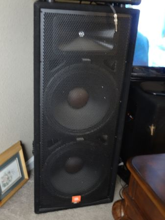 JBL JRX100 Series Speakers - $1000 (Los Banos)