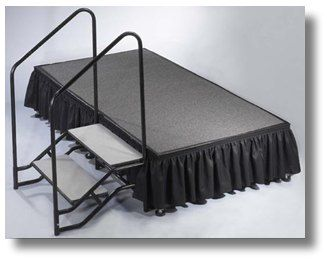 Looking for portable stairs for a 2ft tall portable stage (Modesto)