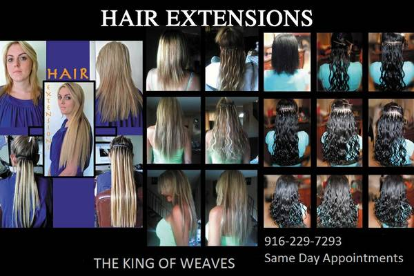 THE KING OF WEAVES HAIR SERVICE INSTALLATIONS LINKS,FUSION,WEAVES (Merced Surrounding Areas)