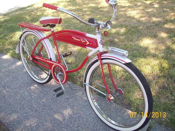 reproduction 1950s Western Flyer Bicycle - $450 (modesto)