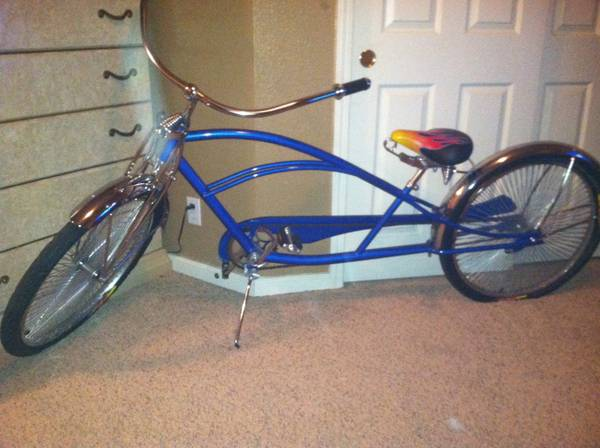 Dyno stretched cruiser bike brand new. $400 - $400 (Stanislaus county)