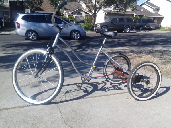 three wheeled bike - $150 (modesto)