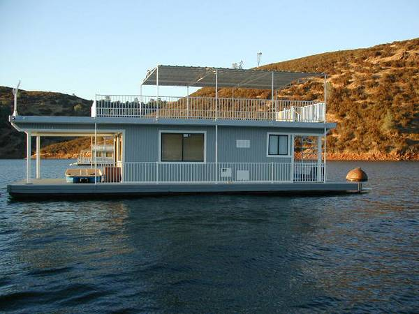 HouseBoat Lake McClure with Permit - $89900 (Lake Mc Clure)