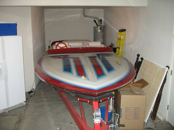 1986 Hallett Vector Project Boat - $17500 (Waterford, Ca.)