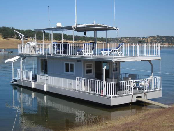 Custom Houseboat - $115000 (Lake Don Pedro, Flemming Meadows)