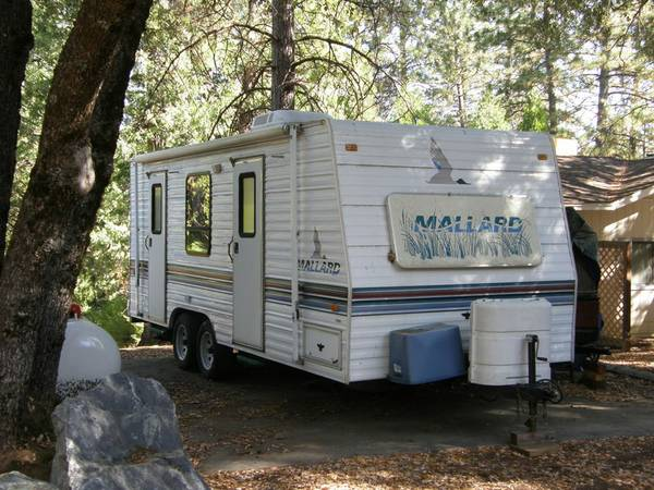 1995 Mallard 22ft travel trailer - $5500 (Groveland)