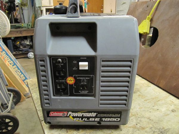 Coleman Powermate 1850 Generator. Runs Great - $225 (Ceres)