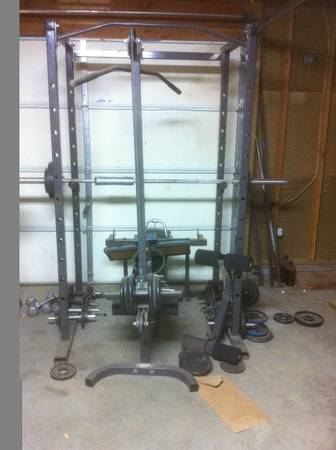 ParaBody Bodysmith powercage - $450 (Near Patterson)
