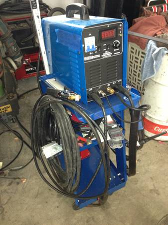 TIG WELDER AND SNAP ON PLASMA CUTTER - $600 (TRACY)
