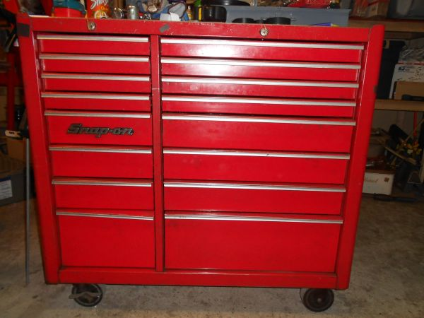 REDUCED snap on air tools tool box screw drivers cooling system tester (modesto)