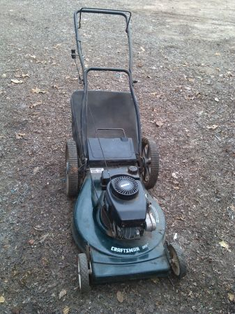 craftsman lawnmower with bag - $60 (patterson)