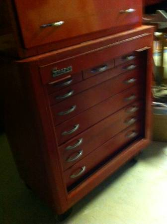 Snap On Tools roll away chest vintage - $450 (Tracy)
