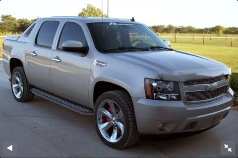 08 CHEVY AVALANCHE STOCK 22quot CHIP FOOSE REGENCY EDITION OEM ALLOY WITH TIRE (Fresno)