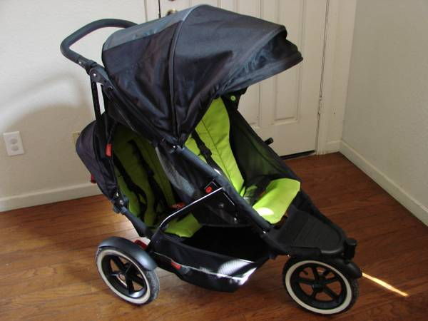 Phil Teds Explorer Buggy Stroller with Double Kit - Apple - $1 (Patterson)