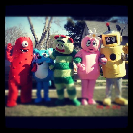 Summer fun with yo gabba gabba (Special visits from gabba land and beyond)