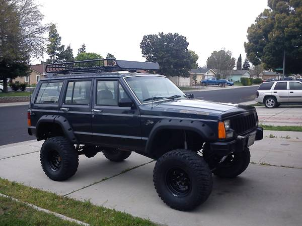 CHEROKEE XJ (CRAWLER OR TRAIL READY) - $4550 (MANTECA)