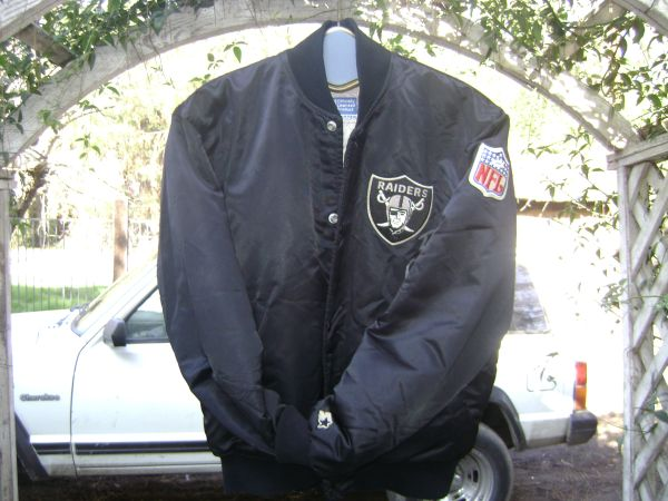 Autographed Vintage Oakland Raiders Official NFL Satin Jacket - $80 (modesto)