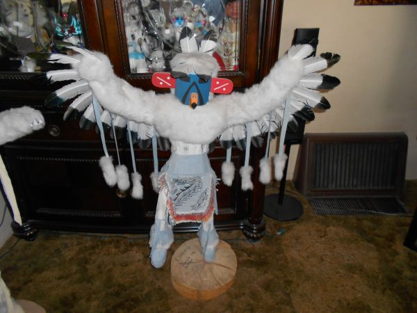 Native American Dancing Eagle Kachina Doll - $500 (Merced, CA)