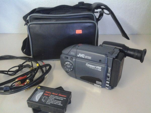 JVC CAMCORDER Compact VHS - $40 (Patterson)