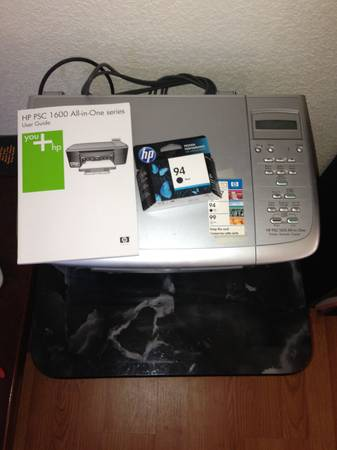 Computer Printer WITH New Color Cartridge- HP PSC 1610 - $20 (Modesto)