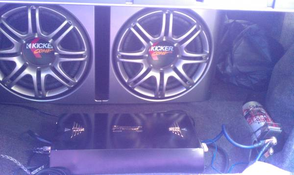 Kicker Speakers and Performance Teknique Amp - $400 (Turlock)