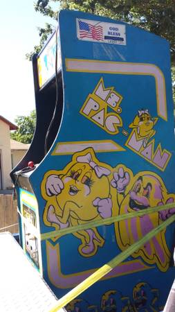 arcade game-ms. pac man $500 obo - $500 (east modesto)