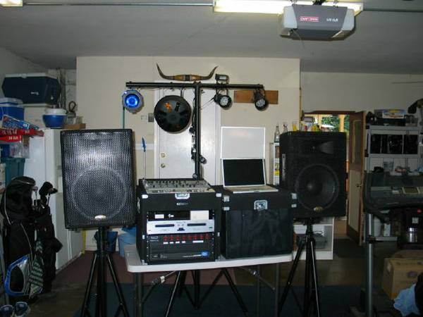 DJ - Complete set of Equipment. - $1300 (Modesto)