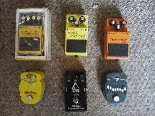 Boss, Danelectro and DeltaLab Effects Pedals - $1 (Gustine)