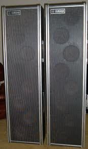 Vintage Yamaha PA Column Concert Speakers - $300