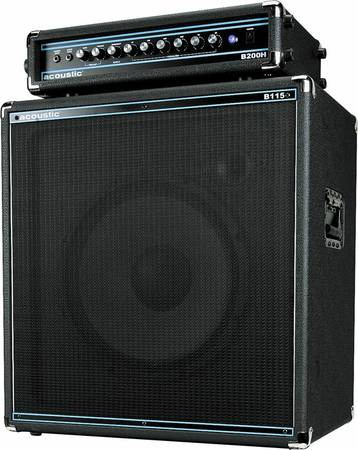 Acoustic B200 Bass Amp and Cab - $400 (Ripon)