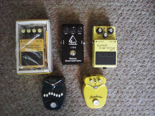 Boss, DeltaLab and Danelectro Effects Pedals - $1 (Gustine)