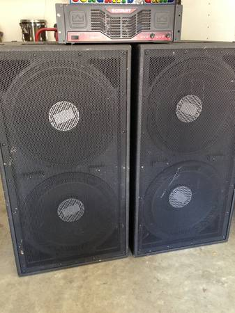 Complete 18inch Sub System - $1 (Central Valley )