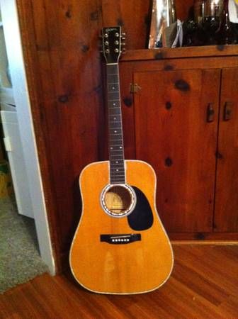 Esteban Electric Acoustic - $150 (Hughson)