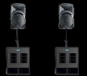 Professional Sound System for Rent (Modesto)