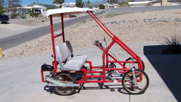 4 Wheel bicycle gas motor - $1100 (Lake Havasu City)