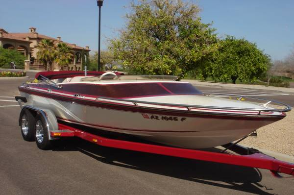 1981 Tarva Custom Boats 21 Mini Day Cruiser - $10800 (Mesa, Arizona)