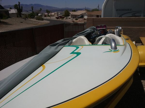 67 Sanger V-drive flatty classic hot rod boat - $3500 (LHC)