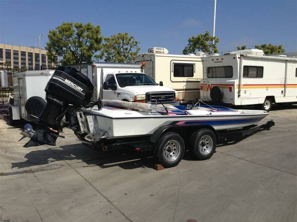 1989 19 Daytona Sprint with 200hp Mercury Outboard - $3500 (Southern California)