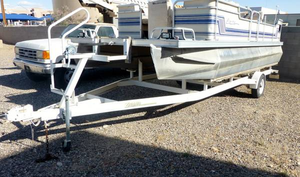 ZIEMAN PONTOON BOAT TRAILER - $1950 (BULLHEAD CITY, AZ)