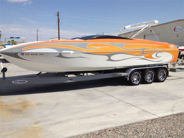 07 E Ticket 29 Luxury Cat deckboat - twin 525s - $156000 (Lake Havasu City, AZ)
