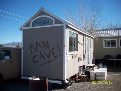 MAN CAVE ON WHEELS ALSO HER CAVE (kingman)
