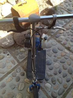 Viza Viper 33cc Gas Powered Scooter - $200 (Bullhead City)