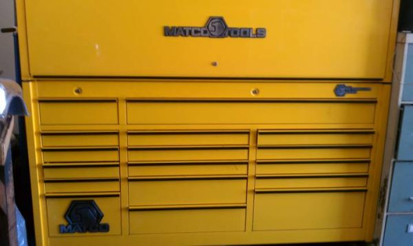 matco tool box and top hutch - $4500 (lake havasu)