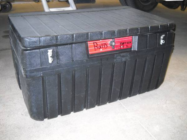 Truck Tool Box By Tuff Box Plastic Box Small Truck - $45 (Fort Mohave)