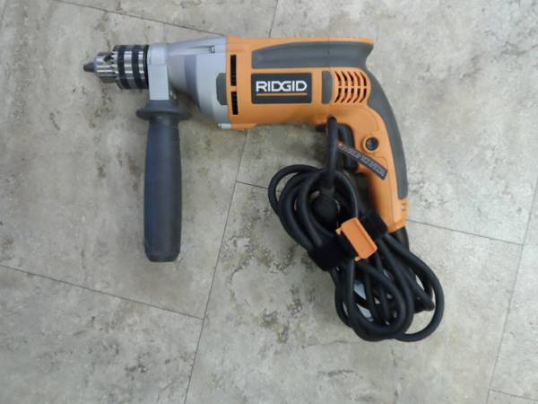 Ridgid Heavy Duty corded drill - $70 (Bullhead City)