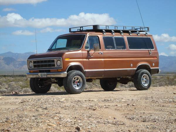 Expedition Van Detroit Lockers Coil Spring Suspension - $3000 (Yucca)
