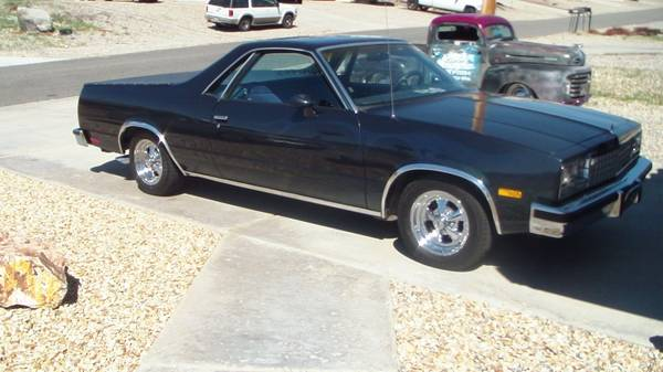 1985 El Camino - $7900 (Lake Havasu City)