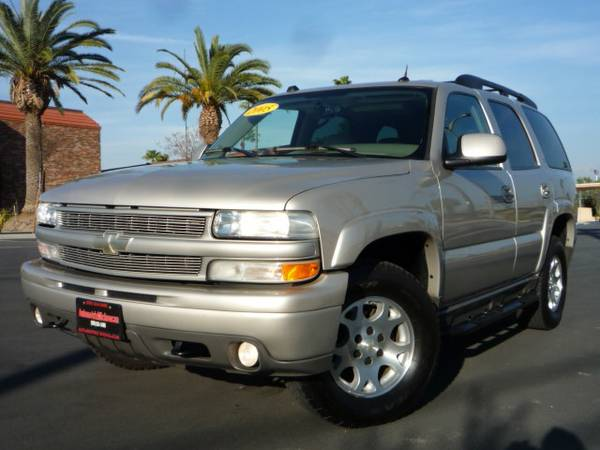 2005 Chevrolet TAHOE z71 4X4 Third Row Seat NAVIGATION 1.99RATE O.A.C - $12999 (AUTOMOTRIZMICHOACAN .COM )